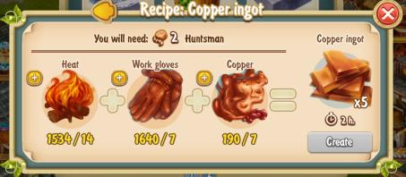 golden-frontier-copper-ingot-x5-recipe