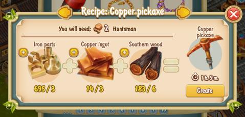 golden-frontier-copper-pickaxe-recipe-smithy