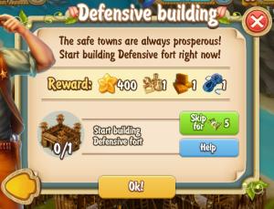 golden-frontier-defensive-building-quest