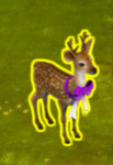 golden-frontier-fawn-with-bow