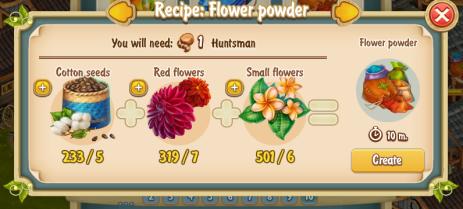 golden-frontier-flower-powder-recipe-workshop