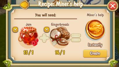 golden-frontier-miners-help-recipe