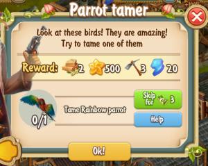 golden-frontier-parrot-tamer-quest