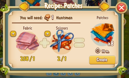 golden-frontier-patches-recipe-textile