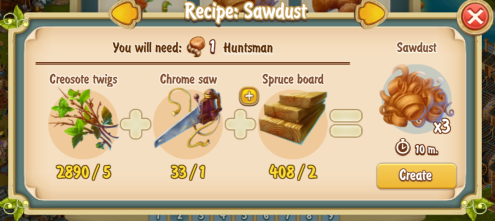 golden-frontier-sawdust-x3-recipe-workshop